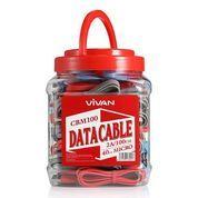 Kabel Cas VIVAN Kabel Data Charge CBM100 Harga Per Pcs
