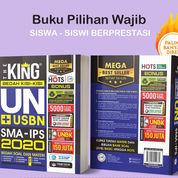 Buku Mega Best Seller Bedah Kisi-Kisi: The King SMA IPS 2020