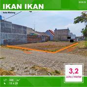 Tanah Kavling Luas 90 Daerah Ikan Tombro Sukarno Hatta Kota Malang _ 576.19 (22303251) di Kota Malang