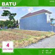 Tanah Kavling Luas 405 Seberang Argowisata Kota Batu Malang _ 578.19 (22303927) di Kota Malang