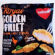 Belfoods Royal Golden Fillet Ayam 250 Gram (22309455) di Kota Surabaya