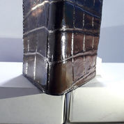 TERBAIK, Dompet Pria Kulit Buaya Model Berdiri Asli Jayapura (22318131) di Kab. Sidoarjo