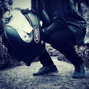 Helm Ink Cl-Max Ala Shoei X-14 Blackdoff