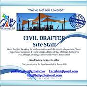Drafter Sipil - Site Project Staff - Sanur Bali