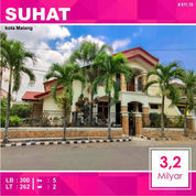 Rumah Mewah Luas 262 Di Bunga Dewandaru Sukarno Hatta Kota Malang _ 325.18 (22363959) di Kota Malang