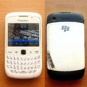 Handphone BlackBerry Gemini 3g Curve 9300 Kepler TAM KONDISI NORMAL Dan LENGKAP