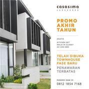Rumah Dalam Townhouse Di Casasima Jagakarsa, Jakarta Selatan
