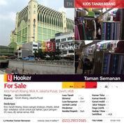Kios Tanah Abang, Blok A, Jakarta Pusat, 2x4m, HGB (22396891) di Kota Jakarta Pusat