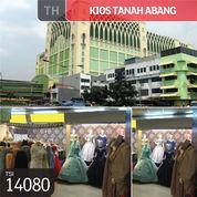 Kios Tanah Abang, Blok A, Jakarta Pusat, 3,70 M, HGB (22398467) di Kota Jakarta Pusat