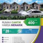 Rumah Murah Strategis Dekat Jalan Raya Kranggan (22405307) di Kota Bekasi