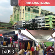 Kios Tanah Abang, Blok B, Jakarta Pusat, 2x2m, H (22408063) di Kota Jakarta Pusat