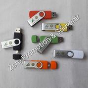USB Flashdisk OTG Plastik Polos 4GB - Souvenir Promosi - OTGPL01