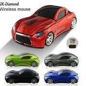 Mouse Wireless Bentuk Mobil Unik Murah