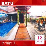 Villa Cafe + Pool 16 Kamar Luas 630 Di Kota Batu Malang _ 604.19 (22422723) di Kota Malang
