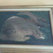 Lukisan Abstrak Tentang Kelinci (22425191) di Kota Semarang