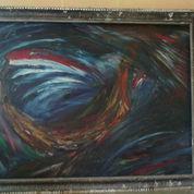 Lukisan Abstrak Kapal (22425231) di Kota Semarang
