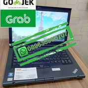 "Laptop Thinkpad T430 Core I5-3320 Gen3 Ram 8Gb Hdd 500Gb DVD Layar 14"""