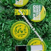 Souvenir Flash Disk Mini Round FDCD14 - 4GB (22451519) di Kota Tangerang