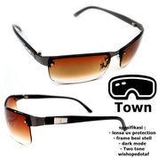 BAYAR DITEMPAT Sunglasses Man Pria Stainless Town