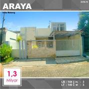 Rumah 2 Lantai Luas 140 Di PBI Araya Kota Malang _ 616.19 (22454831) di Kota Malang