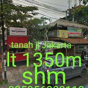 Tanah Jl Jakarta Lt 1350m Lbr Mk 18m Shm Cocok Untuk Usaha