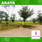 Tanah Kavling Luas 245 Di Palm Valley Araya Kota Malang _ 95.19 (22456987) di Kota Malang