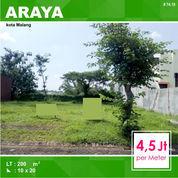 Tanah Murah Luas 200 Di Graha Golf Araya Kota Malang _ 74.19 (22457107) di Kota Malang