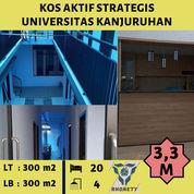 Kos Aktif Lokasi Strategis Universitas Kanjuruhan Malang