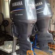 Mesin Tempel Yamaha 150hp 4tak Kondisi 90%