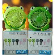 Famad MINI FAN / CUTE CARTOON FAN PORTABLE CARRY / KIPAS MINI TANGAN