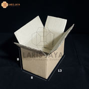 Kotak Kardus / Box Packing 13 X 8 X 8 Cm (25 Pcs) (22536547) di Kota Semarang