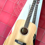 Gitar Fender Jumbo Akustik Dreadnought Natural Clear Kwalitas Pabrikan (22540367) di Kota Bogor