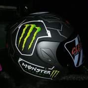 Helm Merk MSR (Monster Energy)