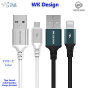 WK Design TYPE C Cable Autodisconnect 2.4A 1 Meter