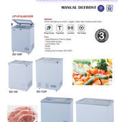 SLIDING FLAT FREEZER MANUAL DEFROST (SD-100F)