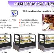 COUNTERTOP CAKE SHOWCASE (A-540V) (22588543) di Kota Jakarta Timur