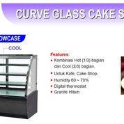 CURVE GLASS CAKE SHOWCASE (DS-950) (22588775) di Kota Jakarta Timur