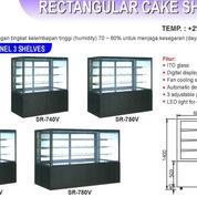 RECTANGULAR CAKE SHOWCASE (SR-780V)
