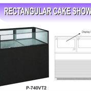 RECTANGULAR CAKE SHOWCASE W/DRAWER (P-740VT2)