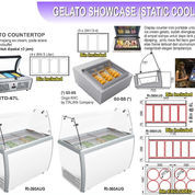 GELATO SHOWCASE STATIC COOLING (RI-260AUG) (22592283) di Kota Jakarta Timur