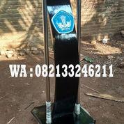 Podium Sekolah Model Minimalis Tiang Stainless Stell Harga Murah (22596383) di Kab. Jepara
