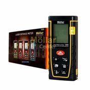 MOLLAR Meteran Laser 100 M Digital LCD Distance Alat Ukur Jarak Meter