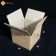 Kotak Kardus Packing 10 X 10 X 8 Cm (Isi 25 Pcs) (22609287) di Kota Semarang