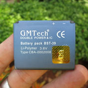 Baterai Sony Ericsson BST-39 Buat W380 W910 Merk GMTech IC Protection 1150mAh (2261059) di Kota Jakarta Pusat