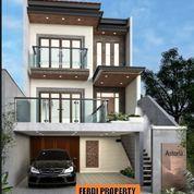 Rumah Minimalis 3 Lantai View Danau Siap Bangun Bukit Golf Cibubur