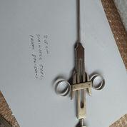 Bruening Tonsil Snare 28cm Stainlesd Steel Instrument Bedah Jerat