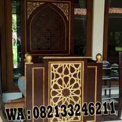 Mimbar Masjid Minimalis Terbaru (22632983) di Kab. Jepara