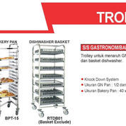 TROLLEY S/S GASTRONOM/BAKERY TROLLRY (BPT-15) (22637123) di Kota Jakarta Timur