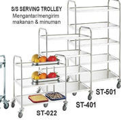 COLLECT & SERVICE TROLLEY (ST-022) (22637407) di Kota Jakarta Timur