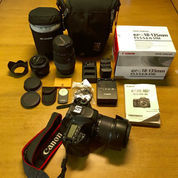Canon EOS 80D 24.2MP Digital SLR Camera - Black (Body Only) (22639839) di Kota Balikpapan